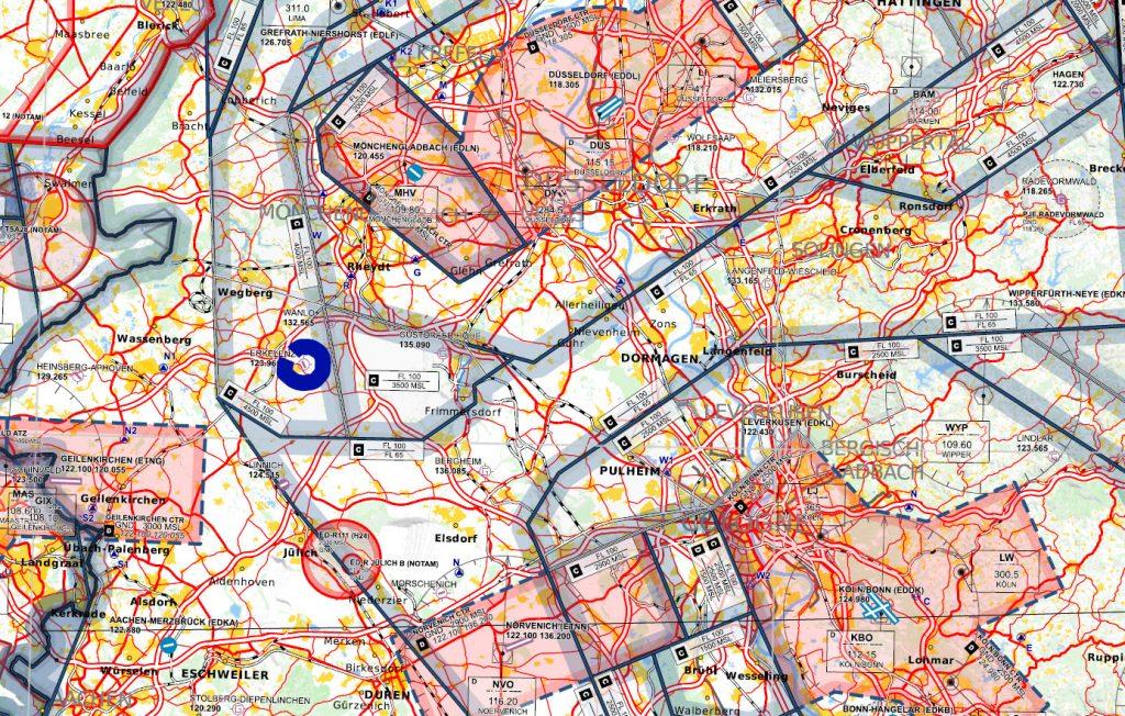 Anflugkarte
